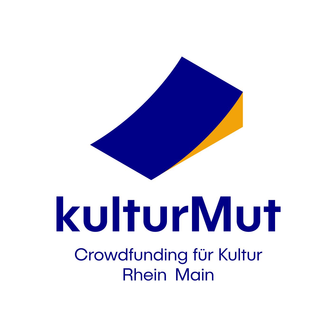 """Ausgezeichnet durch """"kulturMut"""" – die Crowdfunding-Plattform von Aventis Foundation und Kulturfonds Frankfurt RheinMain."""